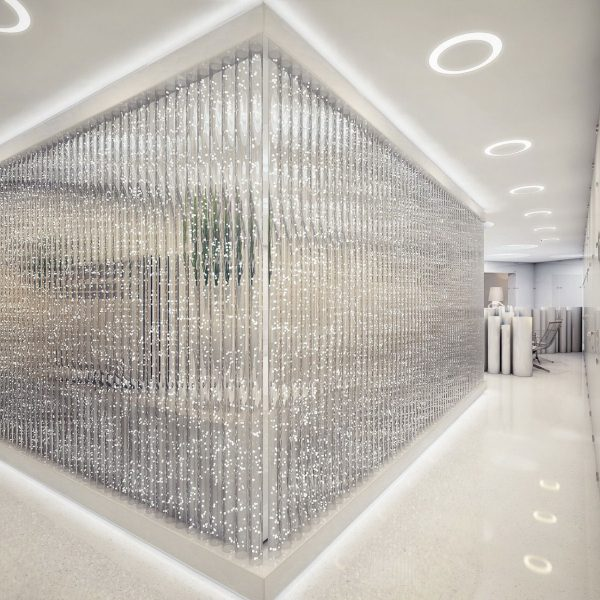 Office-Workspace-Extra-Modern-White-Surgery-Clinic-Interior-Design-Glazed-Wall-With-White-Neon-Lights-For-Beautiful-And-Exciting-Surgery-Clinic-Interior-Inspiring-Design-Ideas